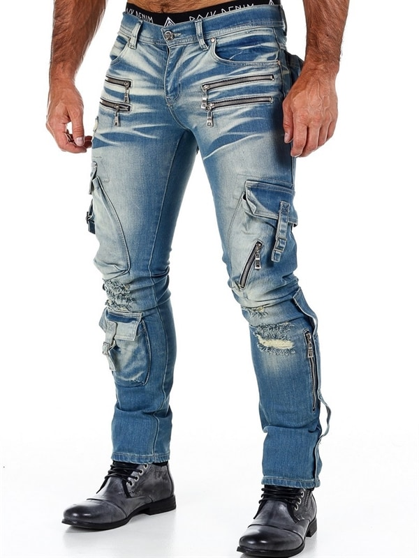 Rd Command Jeans Blå