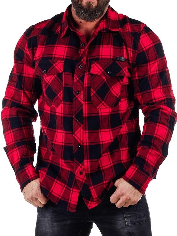 4699fbc711ab Lumberjack Skjorta - Röd/Svart