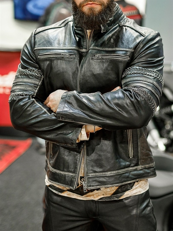 Power Rider Skinnjacka Svart