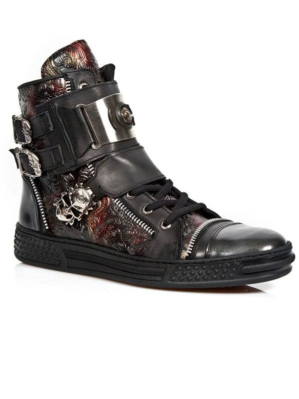 Veracruz New Rock Sneakers - Black/red