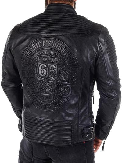 skinnjacka biker flashback