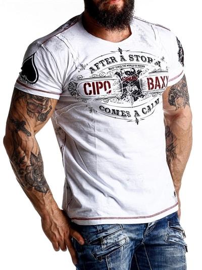619669a448f Vintage Cali Cipo & Baxx T-shirt - Vit Cipo & Baxx
